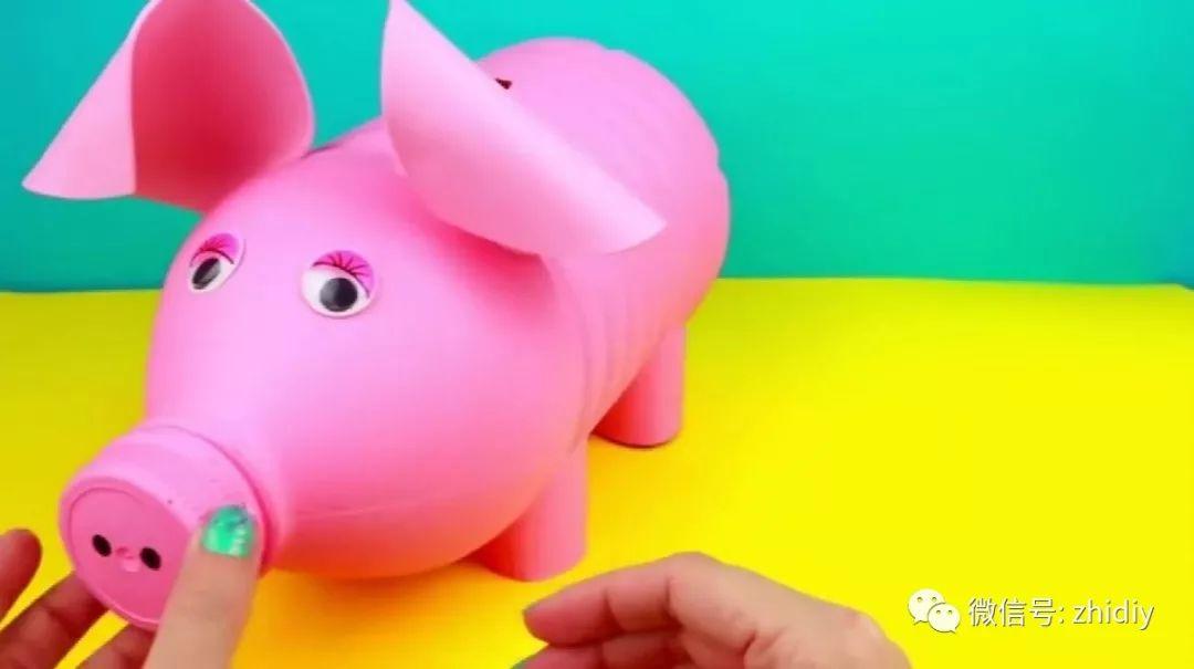 如何手工制作立体小猪