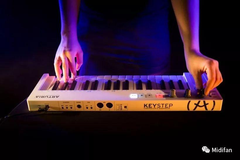 Arturia将KeyStep MIDI控制器固件升级到1.1,功能更实用