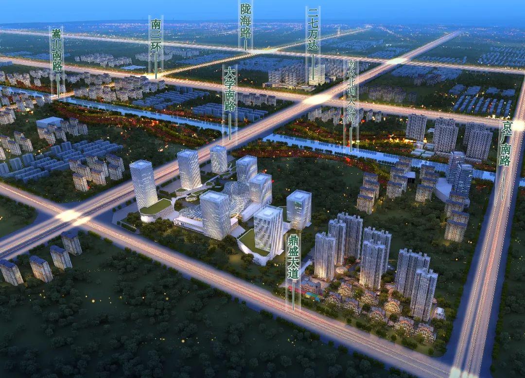 给你一个单选题,郑州的诸多网红新区,如何排序?_二七