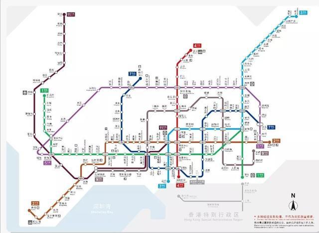 你对深圳的地铁商业实力一无所知(图1)