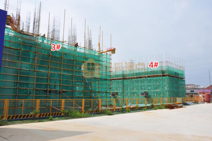 正在施工中,中南·君悦府项目已至地上4层,预计9月份开盘