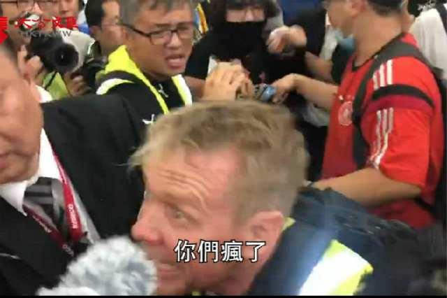 """""""支持示威""""的外国记者,都看不下去了"""