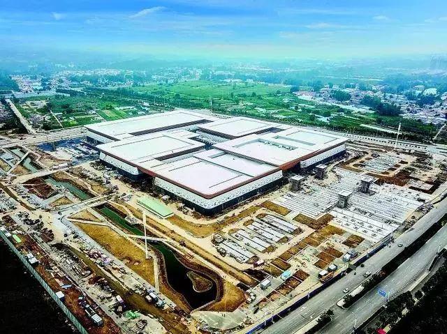 菏泽:国际会展中心,将竣工!