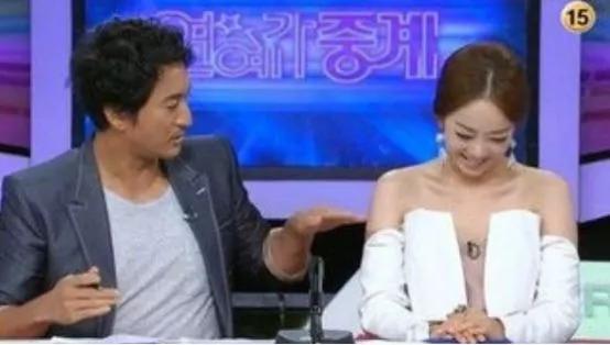 美女大尺度掰穴_韩国电视台为收视拼了,美女主持各种\
