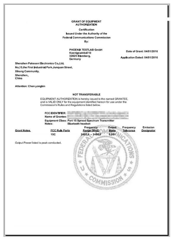 无线产品FCCID认证办理?