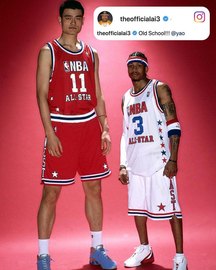 NBA最矮与最高状元秀的合照,有多少人希望他们仍在打球
