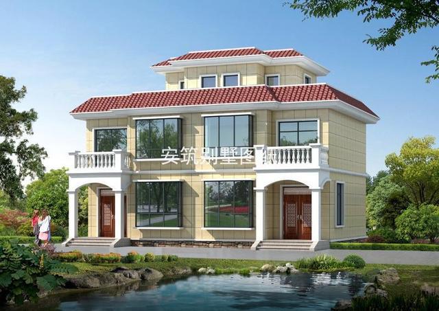平顶两层半房子设计图