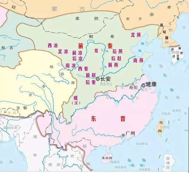 历史地图 从夏朝到清朝,4000多年的艰苦卓绝:从历史地图看中国疆域图片