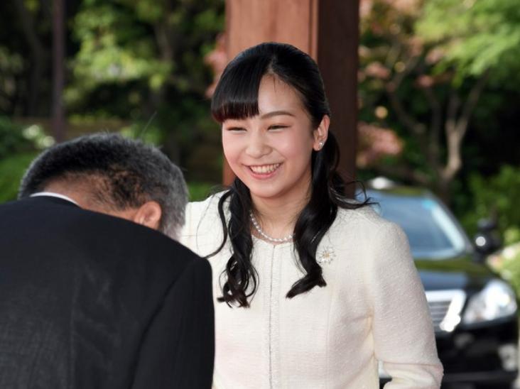 日本最美公主将开启首次外访 今年刚大学毕业