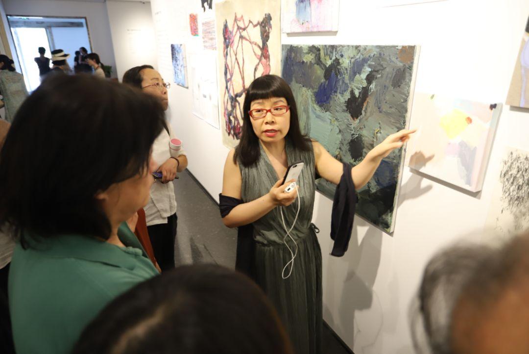"""""""五个课题的报告:第二期自由绘画非具象研究工作坊结业展""""于光语美术馆开幕(图27)"""