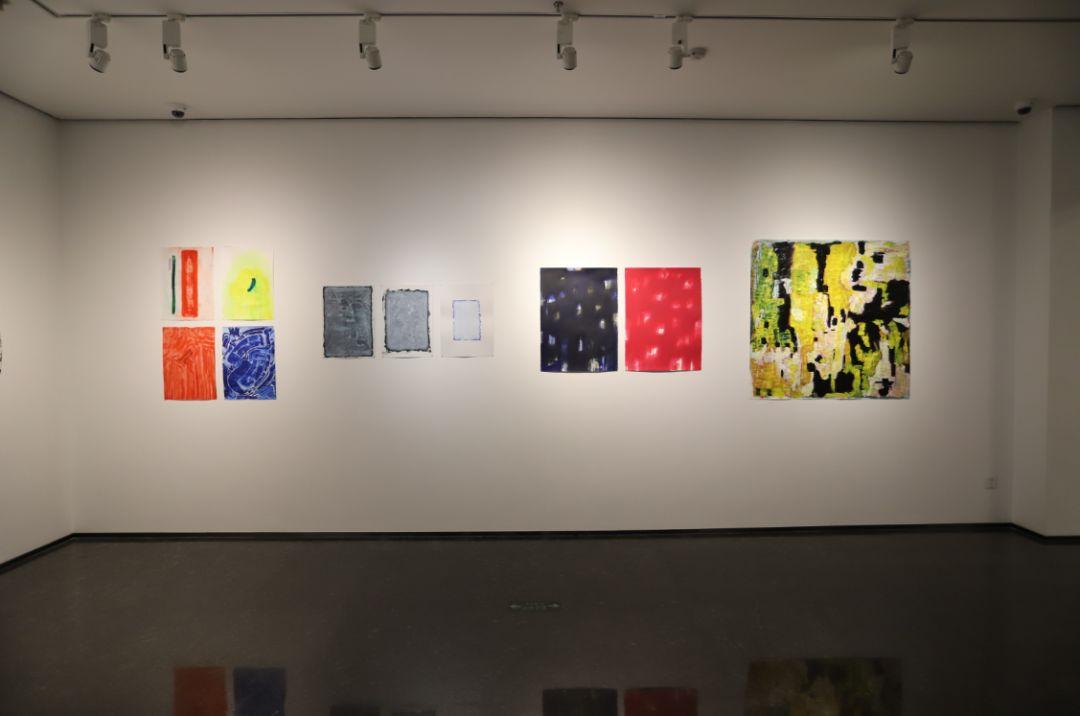 """""""五个课题的报告:第二期自由绘画非具象研究工作坊结业展""""于光语美术馆开幕(图6)"""