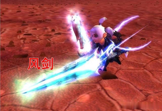 魔兽世界怀旧服风剑怎么做图片