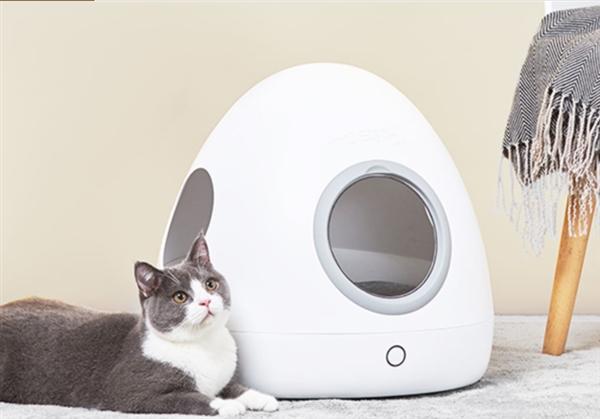 小米众筹上架智能宠物冷暖窝:太空舱设计