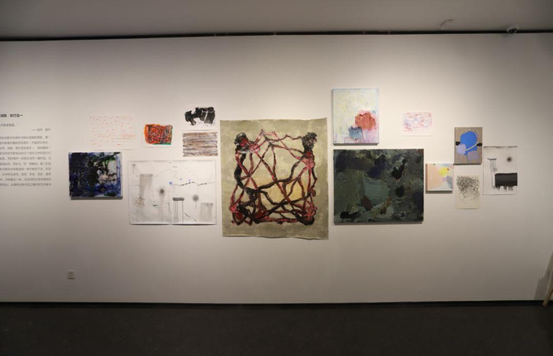 """""""五个课题的报告:第二期自由绘画非具象研究工作坊结业展""""于光语美术馆开幕(图10)"""