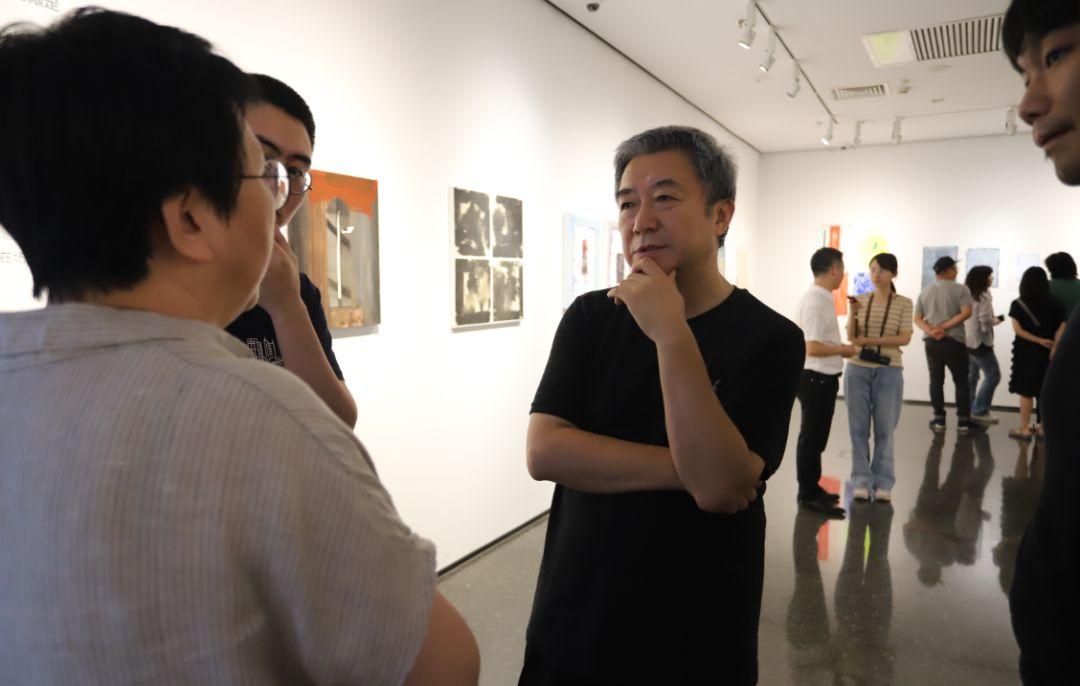 """""""五个课题的报告:第二期自由绘画非具象研究工作坊结业展""""于光语美术馆开幕(图26)"""