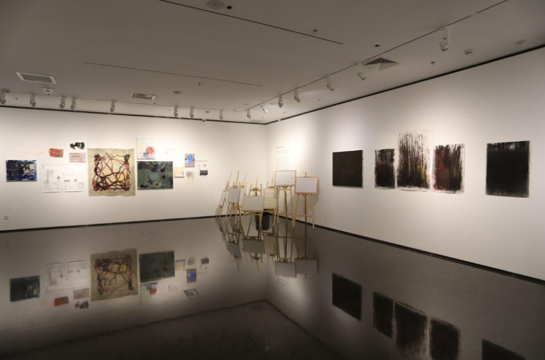 """""""五个课题的报告:第二期自由绘画非具象研究工作坊结业展""""于光语美术馆开幕(图9)"""