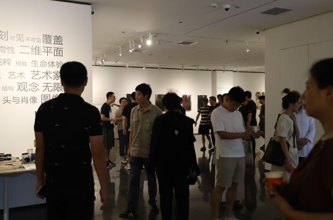 """""""五个课题的报告:第二期自由绘画非具象研究工作坊结业展""""于光语美术馆开幕(图16)"""