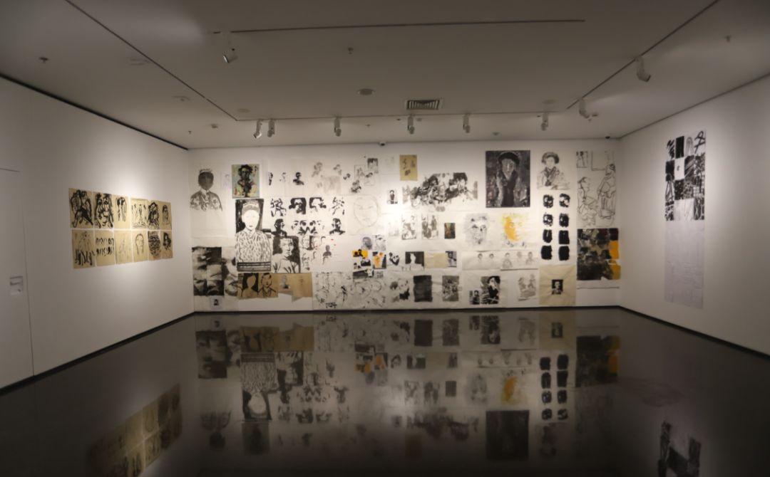 """""""五个课题的报告:第二期自由绘画非具象研究工作坊结业展""""于光语美术馆开幕(图11)"""