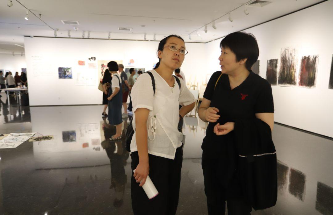 """""""五个课题的报告:第二期自由绘画非具象研究工作坊结业展""""于光语美术馆开幕(图28)"""