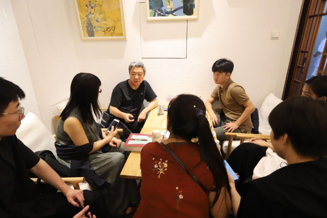 """""""五个课题的报告:第二期自由绘画非具象研究工作坊结业展""""于光语美术馆开幕(图32)"""