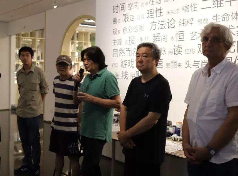 """""""五个课题的报告:第二期自由绘画非具象研究工作坊结业展""""于光语美术馆开幕(图17)"""
