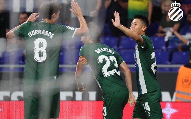 武磊149秒破门,造西班牙人队史欧战最快进球