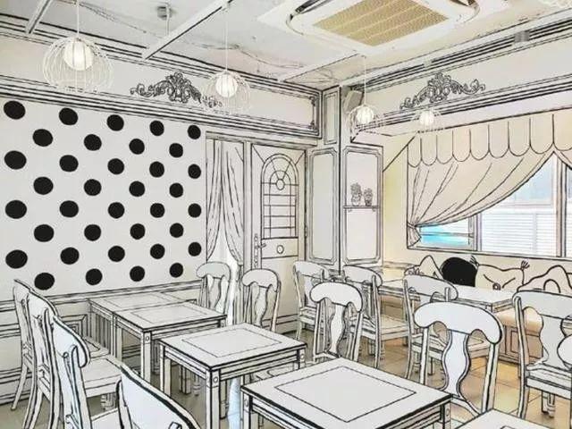 亦真亦幻的日本餐厅,网友 彷佛闯入了二次元世界