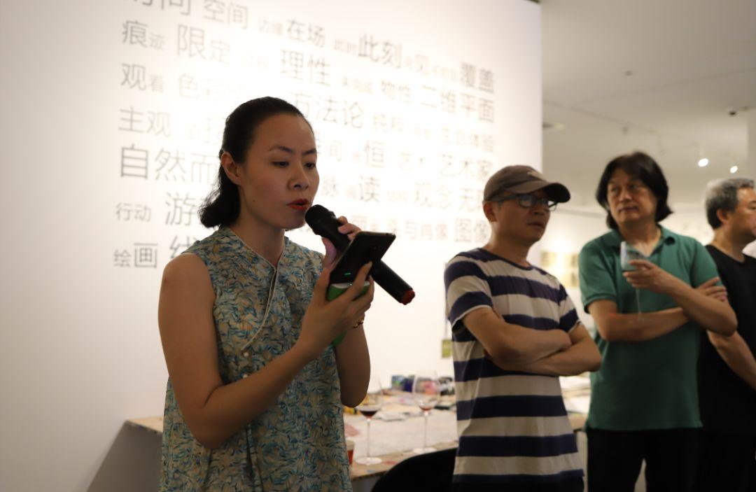 """""""五个课题的报告:第二期自由绘画非具象研究工作坊结业展""""于光语美术馆开幕(图22)"""