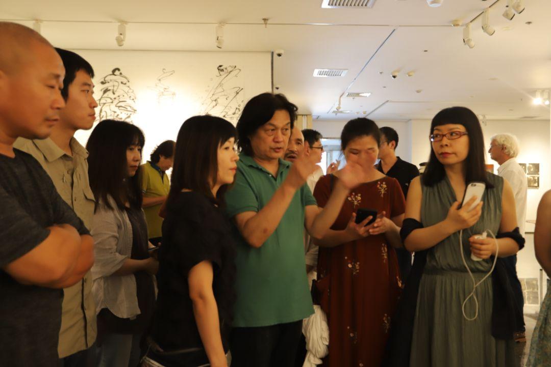 """""""五个课题的报告:第二期自由绘画非具象研究工作坊结业展""""于光语美术馆开幕(图25)"""