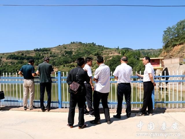 市减灾办督查秦安县防汛和地质灾害防范工作
