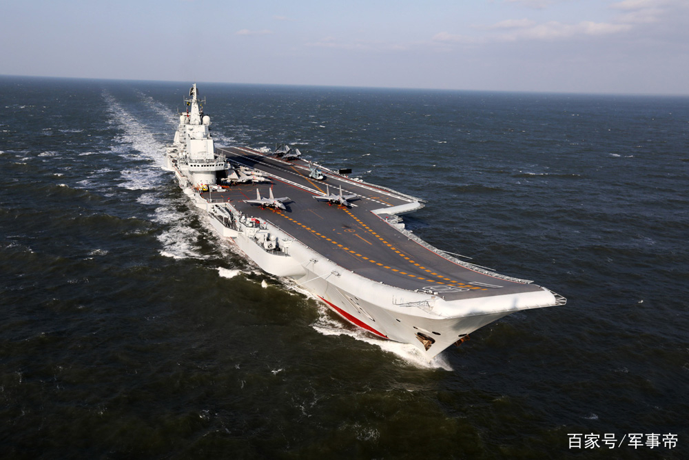 第1艘国产航母再传喜讯,歼15将超过30架,双龙镇海指日可待