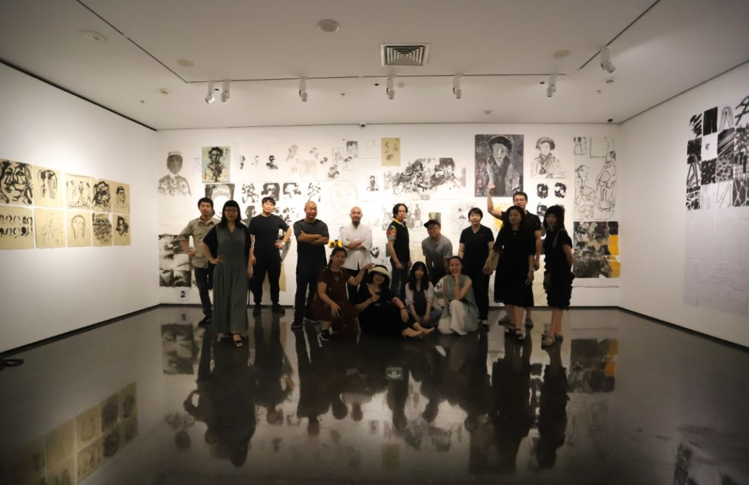 """""""五个课题的报告:第二期自由绘画非具象研究工作坊结业展""""于光语美术馆开幕(图36)"""