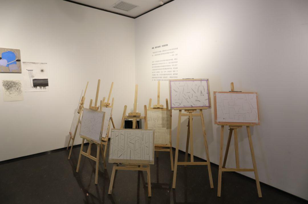 """""""五个课题的报告:第二期自由绘画非具象研究工作坊结业展""""于光语美术馆开幕(图8)"""