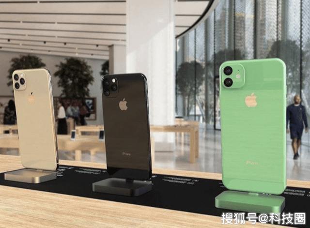 一夜之间手机厂商拼着绿,原因是新iPhone将出新墨绿色