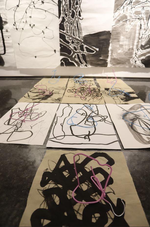 """""""五个课题的报告:第二期自由绘画非具象研究工作坊结业展""""于光语美术馆开幕(图14)"""