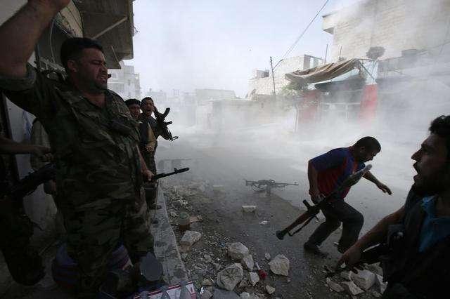 俄叙联军战机被击落,飞行员遭叛军俘虏,叙叛军没想象中那么脆弱
