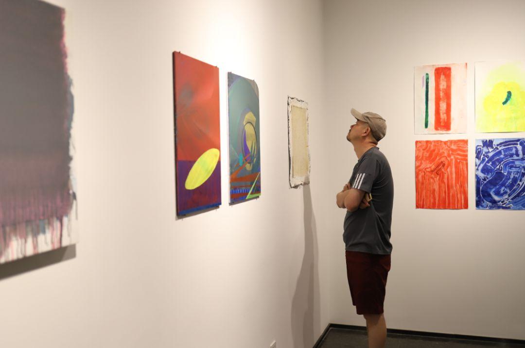 """""""五个课题的报告:第二期自由绘画非具象研究工作坊结业展""""于光语美术馆开幕(图30)"""