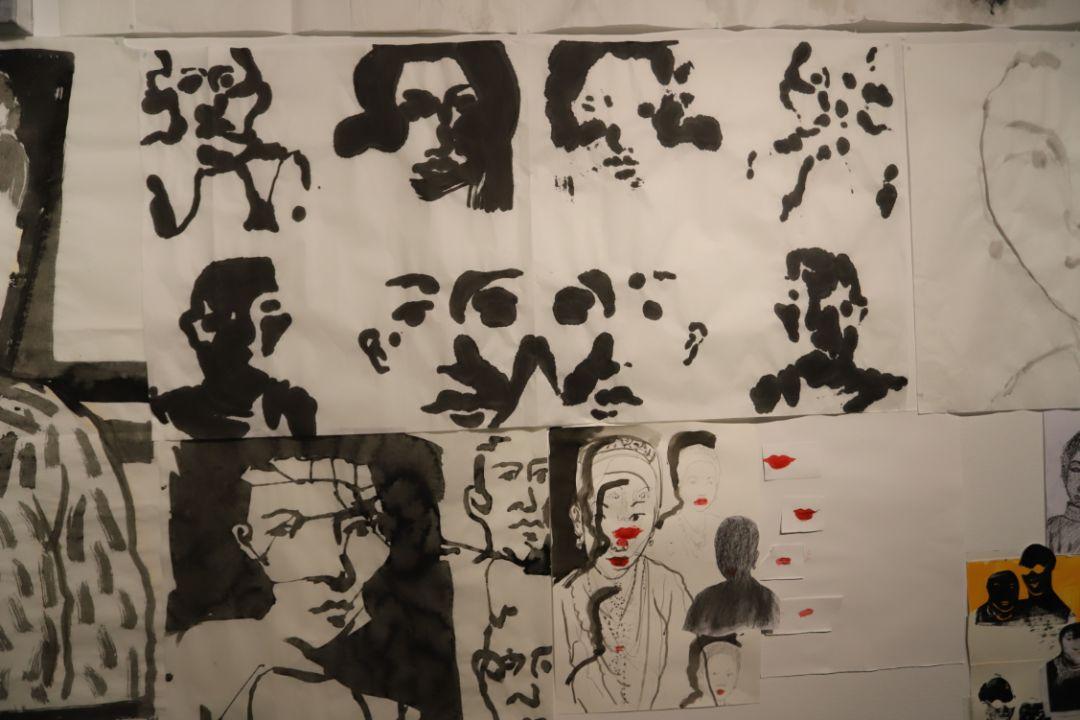 """""""五个课题的报告:第二期自由绘画非具象研究工作坊结业展""""于光语美术馆开幕(图12)"""
