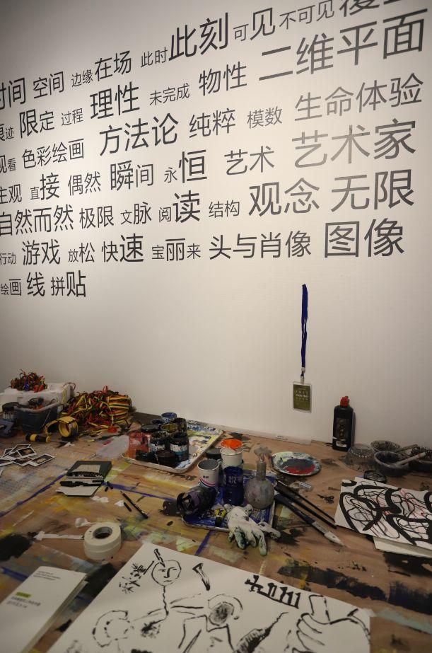 """""""五个课题的报告:第二期自由绘画非具象研究工作坊结业展""""于光语美术馆开幕(图3)"""