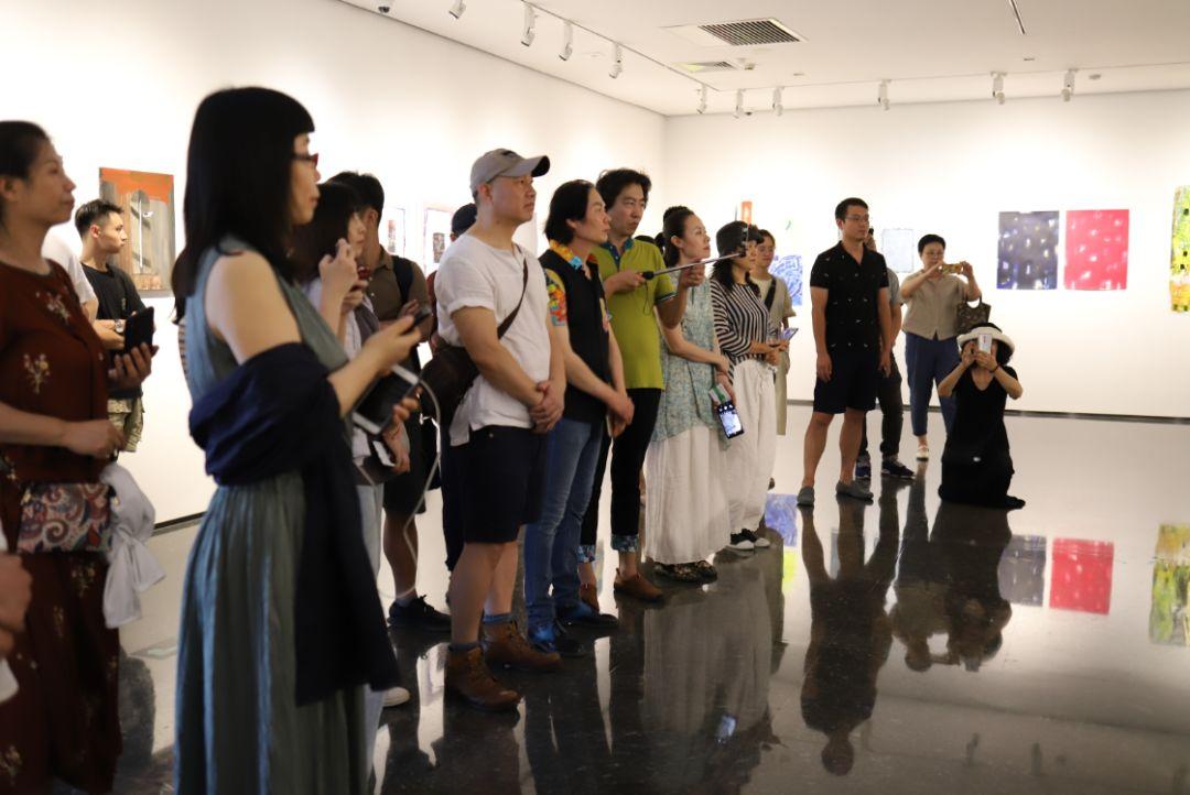 """""""五个课题的报告:第二期自由绘画非具象研究工作坊结业展""""于光语美术馆开幕(图24)"""