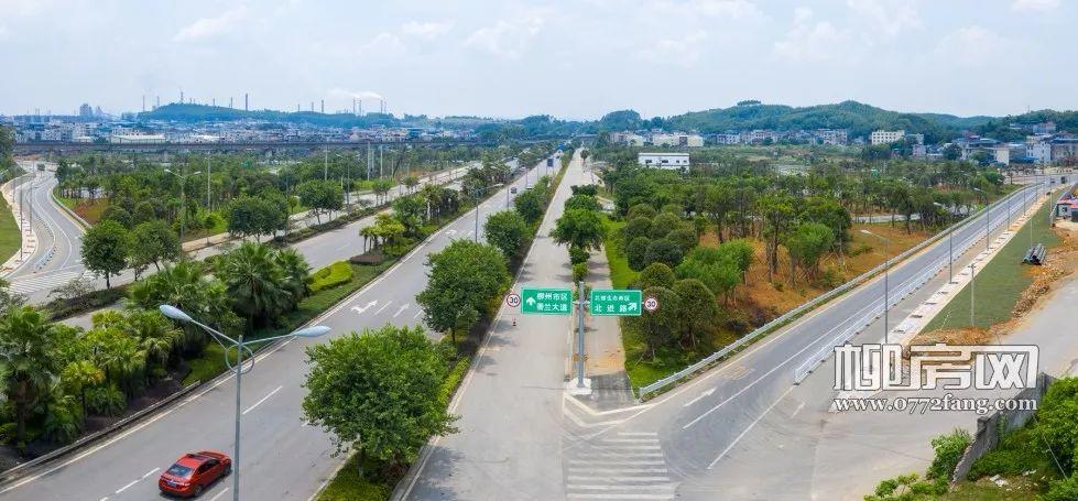 又一条主干道即将建成,柳州北大门今后通行更便捷!