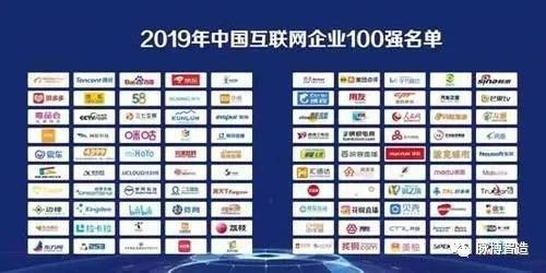 2019年互联网百强企业公布,剧透了哪些新风口?