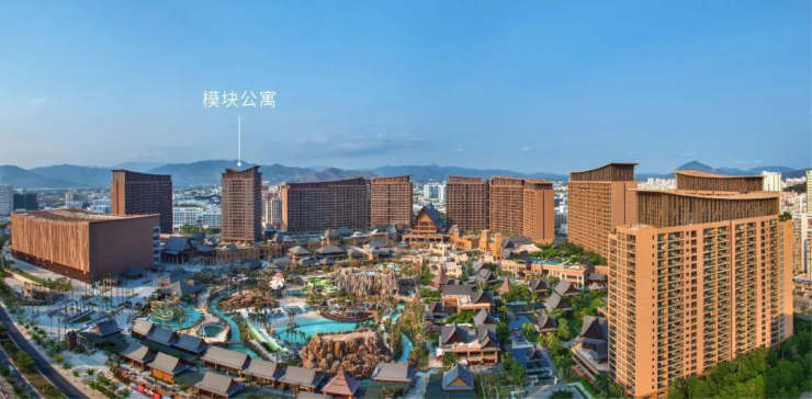 模块公寓+七星海景别墅 红树林百亿大盘正式开售!