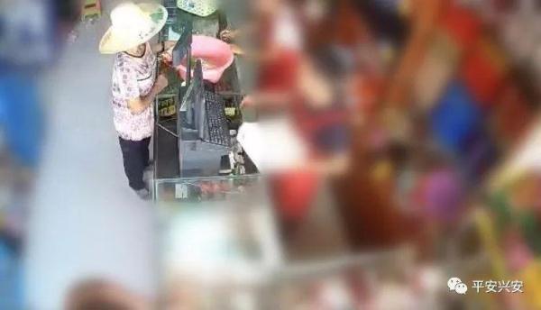 桂林60岁老太婆竟然当街做这种事!坏人变老了才是最可怕的