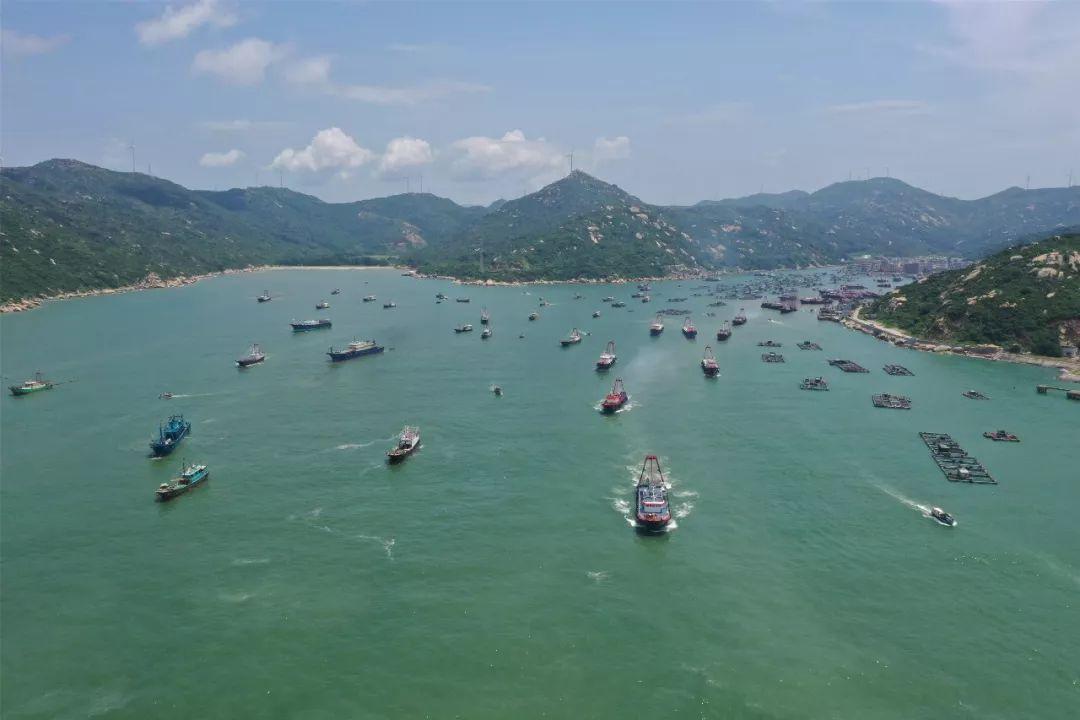 今天开渔!全市共有2000多艘渔船启航捕鱼