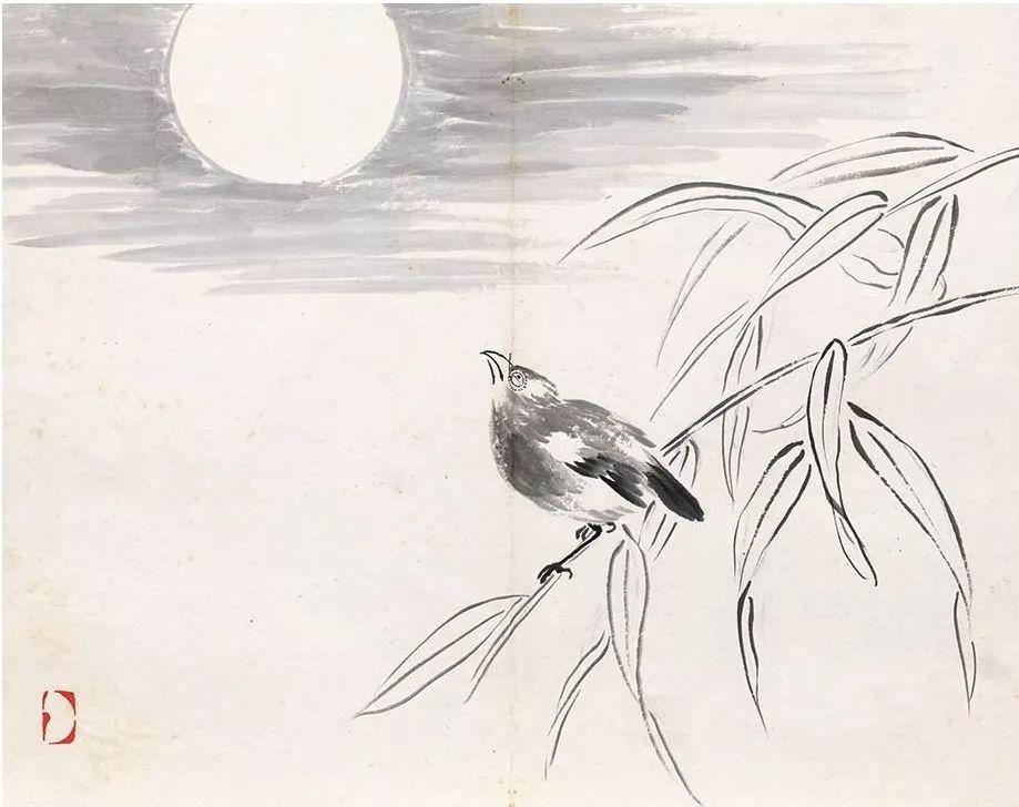 阴阳大战记粤�_齐白石《早年花鸟册》(老舍旧藏),与老年风格很大不同