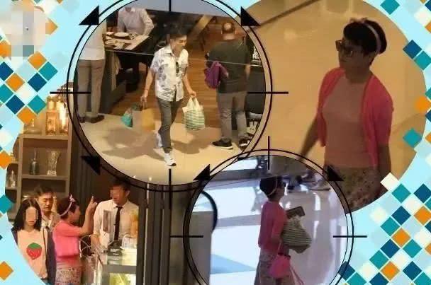 狄波拉戴粉色发夹逛街,67岁年轻又漂亮,老公江耀城全程陪同