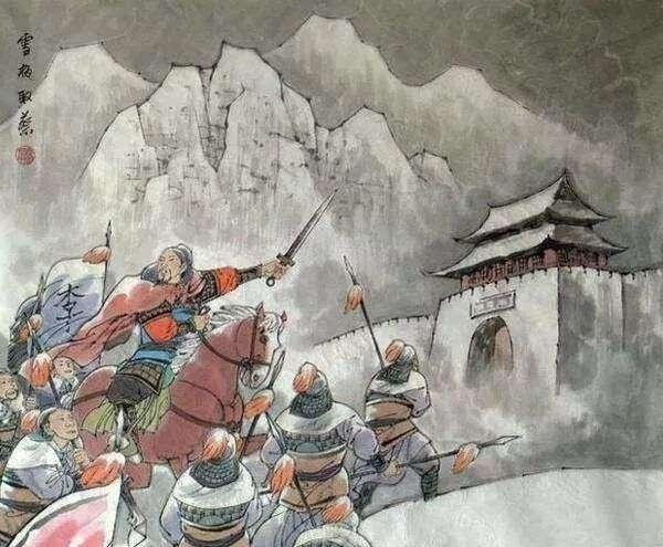 李愬雪夜入蔡州:挽救唐朝命运的关键之战的背后