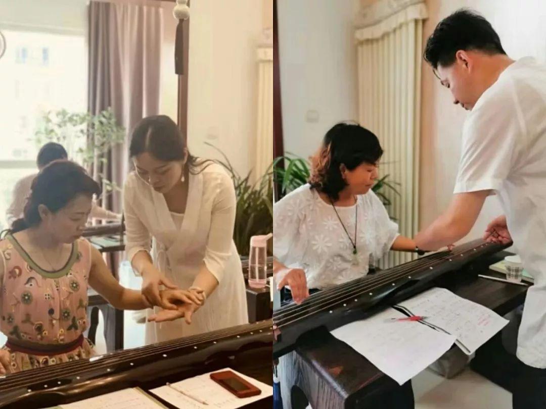 热爱古琴,不限年龄,有一定基础即可报名 授课老师:李蕾老师,王先宏图片