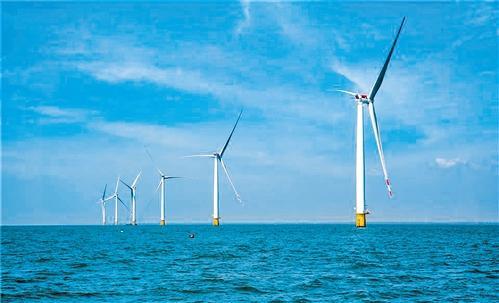 广东首个接入220千伏系统海上风电场并网发电